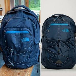 💰💰The north face Borealis backpack navy & blue